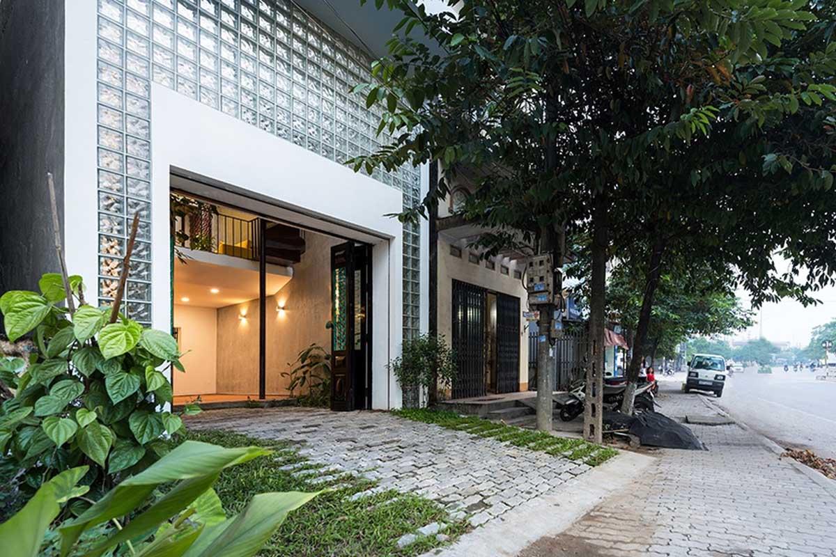 Ngôi Biệt Thự Sân Vườn Hình Thang Bí Ẩn Tại Thái Nguyên