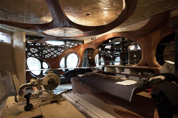 Thiết Kế Nhà Hàng Phong Cách Art Nouveau