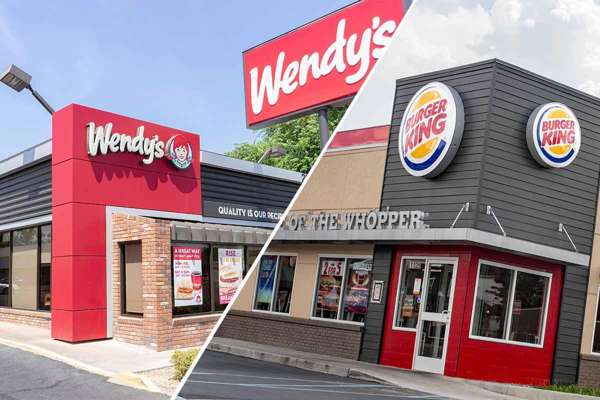 Đỏ Vàng và Đen – Màu Sắc Đặc Trưng Của Các Cửa Hàng Fast Food